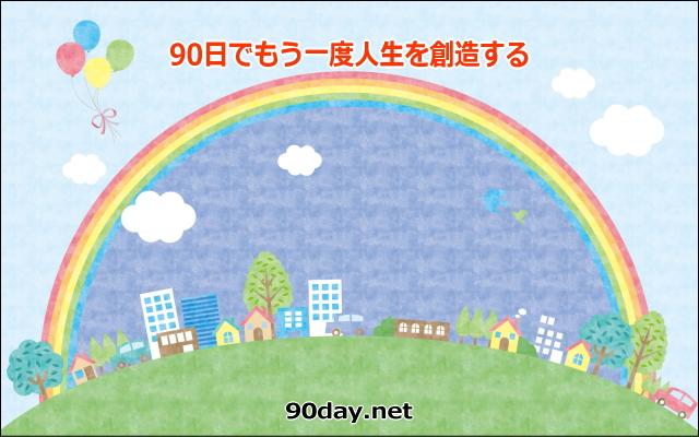 90日で人生を創造するサイトイメージ画像